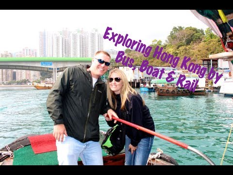 Exploring Hong Kong By Bus, Boat & Rail On The Big Bus Tour, Aberdeen Bay, Jumbo Kingdom, Light Show