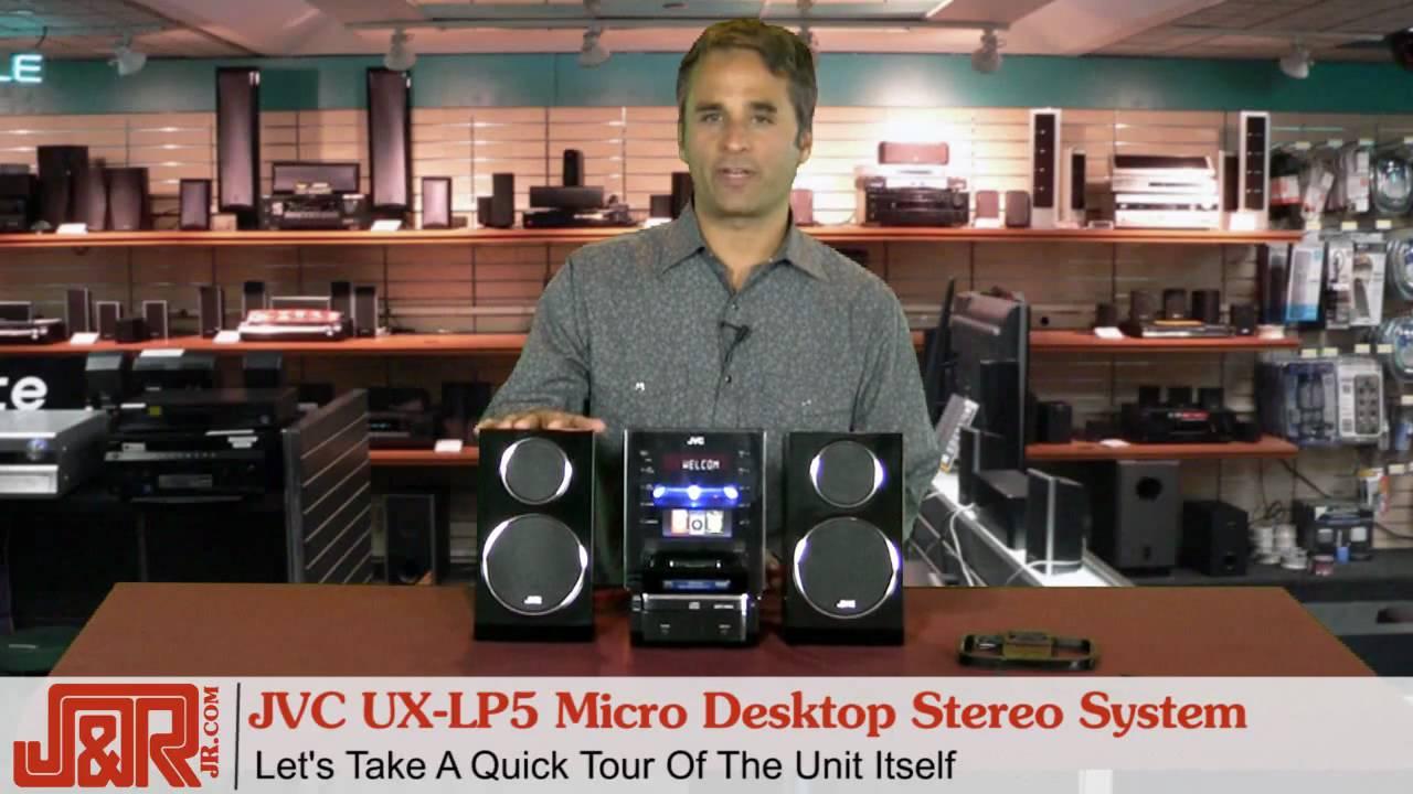 LP 55 B JVC Component UX Black