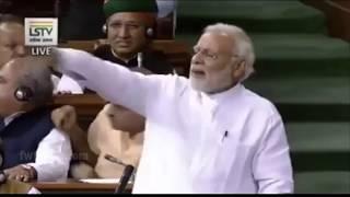 PM Modi's जी की ताबड़तोड़ स्पीच देख कर आप दंग रह जायेंगे, हुए भाबुक  - Loksabha in parliament