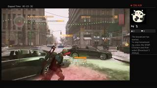The Division, Part Thirty One, PS4 Live Broadcast, No Commentary, Walkthrough