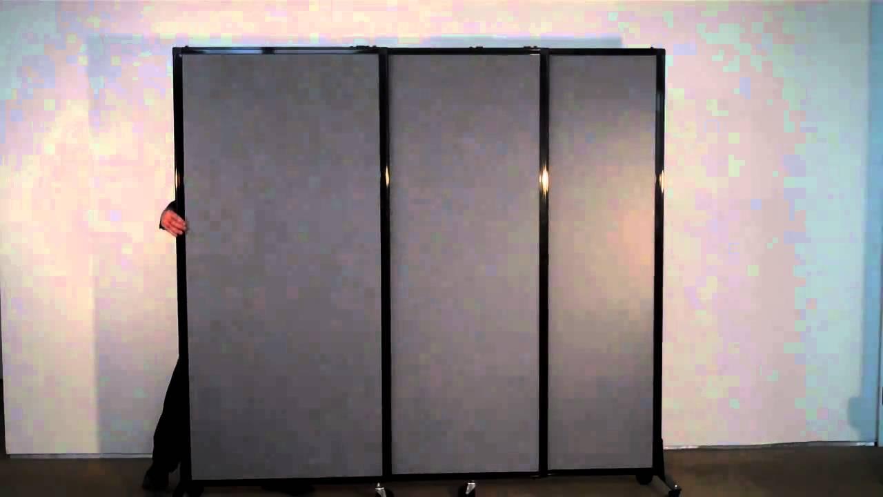 Versare Afford A Wall (Telescoping) Portable Partition   YouTube