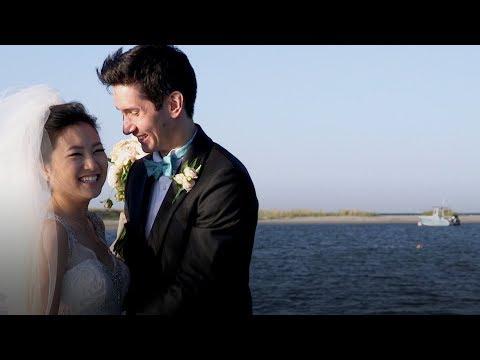 Martha's Vineyard seaside wedding at Edgartown Yacht Club