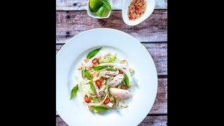 Vietnamese Chicken Salad - Gỏi (nộm) Gà Bắp Cải Rau Răm