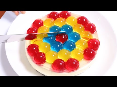 Jewel Orbeez JELL-O Cake Recipe