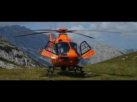 ZDF reportage: Die Bergwacht  Christoph 14 am Watzmann