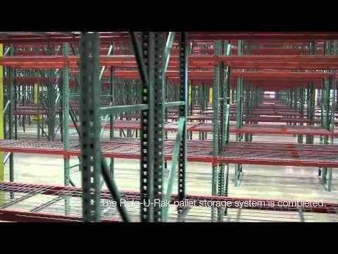 Warehouse Space Planning - Pallet Position Racking System