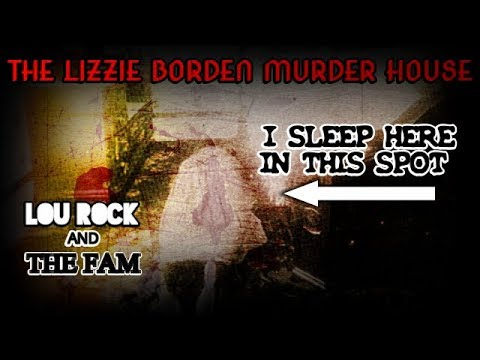 OVERNIGHT IN THE LIZZIE BORDEN HOUSE !