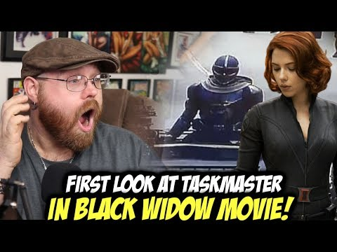 Leaked First Look At Taskmaster In Black Widow Movie Youtube