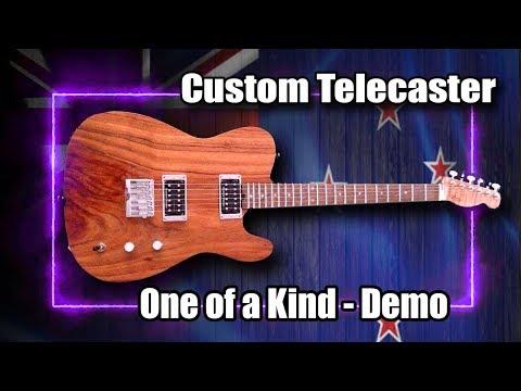 Unboxing Custom Built Telecaster (Exotic Woods & Pure Magic!)