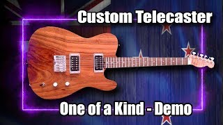 Unboxing Custom Built Telecaster (Exotic Woods & Pure Magic!)