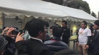 3月11日 東京タワーでの模様.
