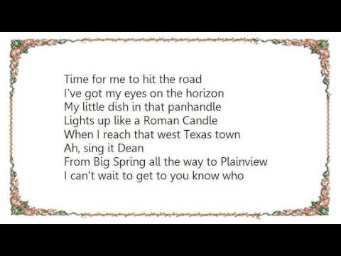 George Strait - West Texas Town Lyrics