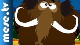 Iszkiri zenekar: Jön a mamut! (rajzfilm, gyerekdal, mese) | MESE TV