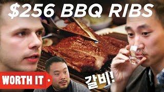 Video $13 BBQ Ribs Vs. $256 BBQ Ribs • Korea download MP3, 3GP, MP4, WEBM, AVI, FLV Juli 2018