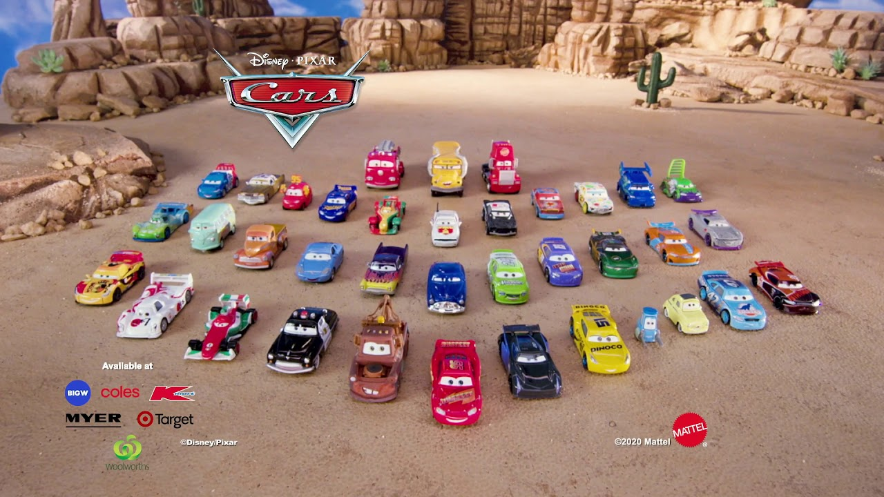 Disney Pixar Cars Diecasts Cars Australia Youtube