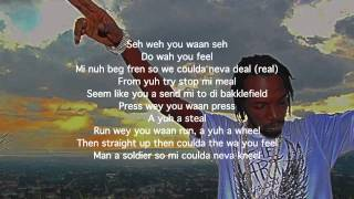 Mavado - The Messiah (Lyrics Video) HD