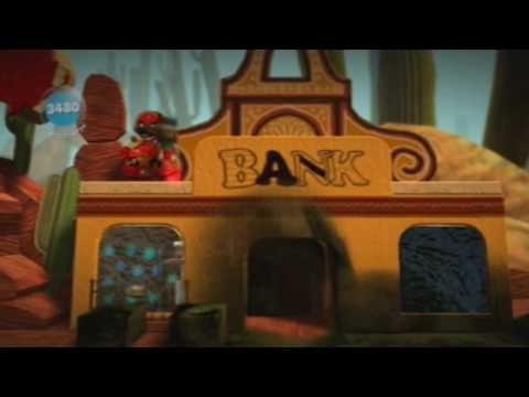 Let's Play LittleBigPlanet Part 11 - This Town Becoming Like A Boom Town
