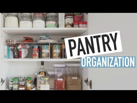 ORGANIZING MY KITCHEN PANTRY: Storage Ideas + Tips