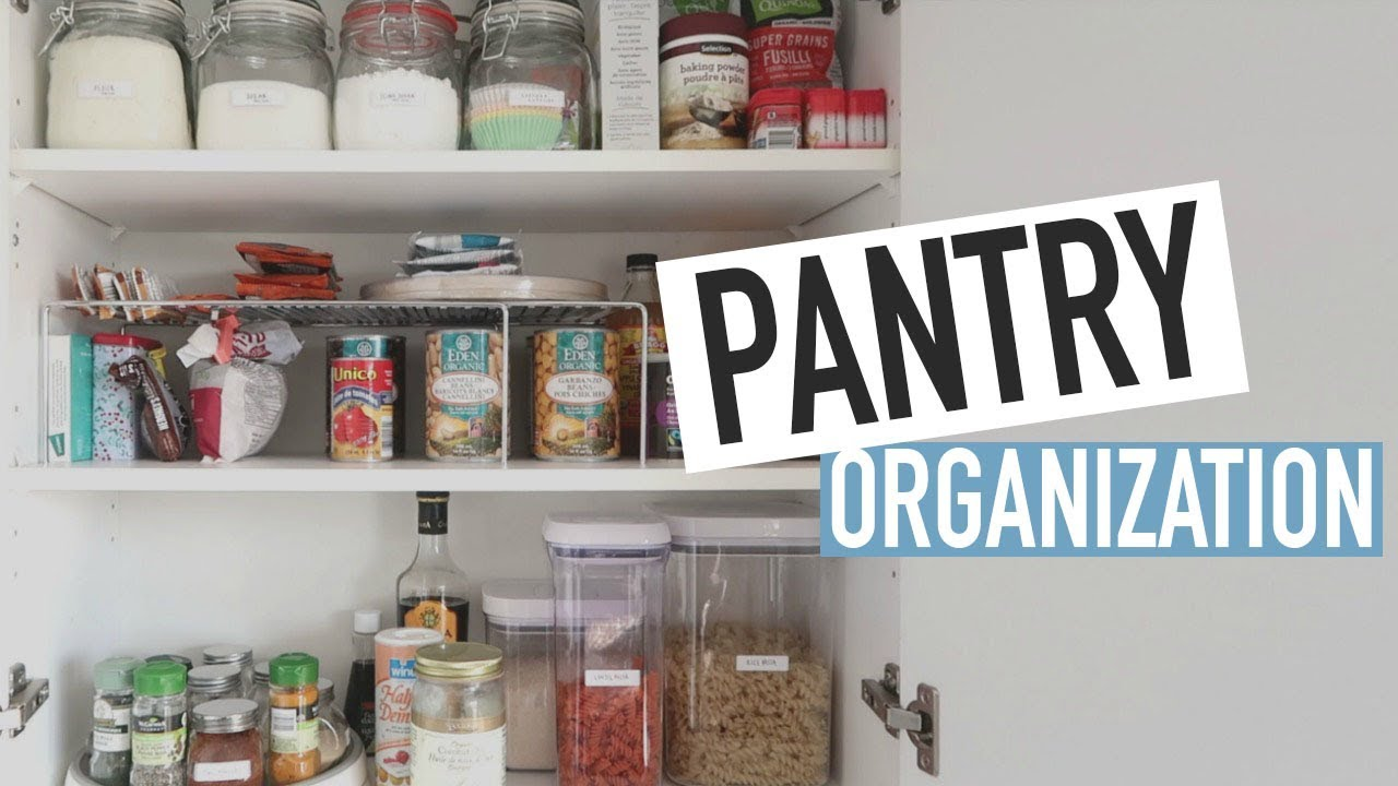 kitchen pantry storage small wood table organizing my ideas tips youtube