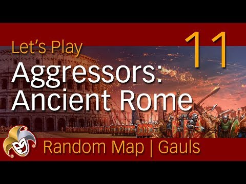 Aggressors Ancient Rome ~ GAULS ~ 11 Replay