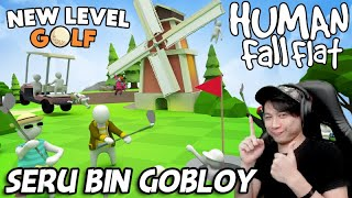 MARI MENGAKAK MODE ON BARSAMA - UPDATE GOLF & CITY | HUMAN FALL FLAT #34
