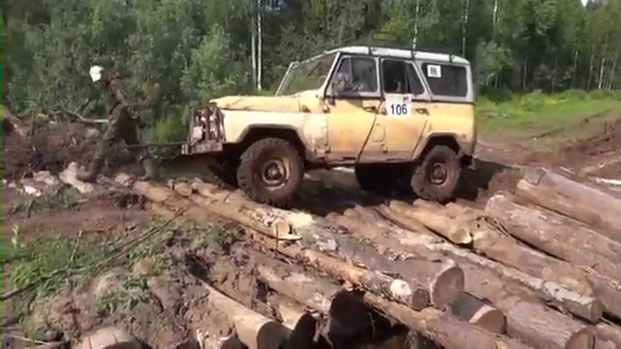 Спасение УАЗика на Pajero