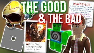 Roblox in a Nutshell 2018 (The Good & The Bad)