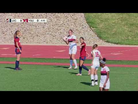 2017 NCAA Women's Soccer   UIC vs Youngstown State