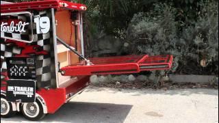 TruckModel Peterbilt 359 RC 1:4 Electric Ramp