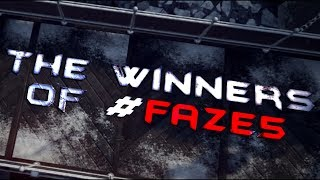 The Winners of #FAZE5 by FaZe Ninja