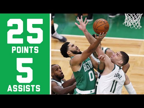 Jayson Tatum 25 Points 5 Assists 11 Rebounds vs Pacers | FULL Game Highlights