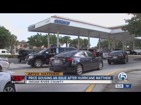 Price gouging an issue after Hurricane Matthew