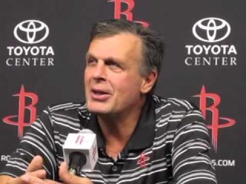 Kevin McHale and Daryl Morey at 2015-