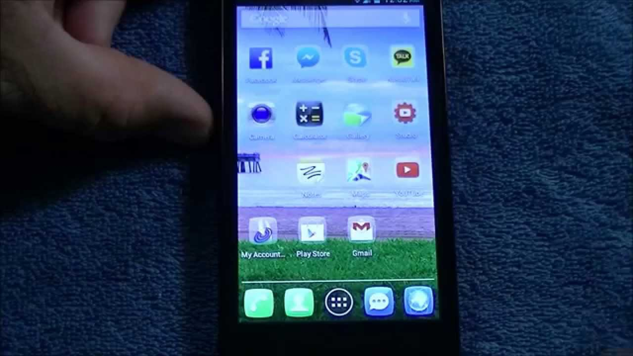 How to Screenshot on the Alcatel One Touch