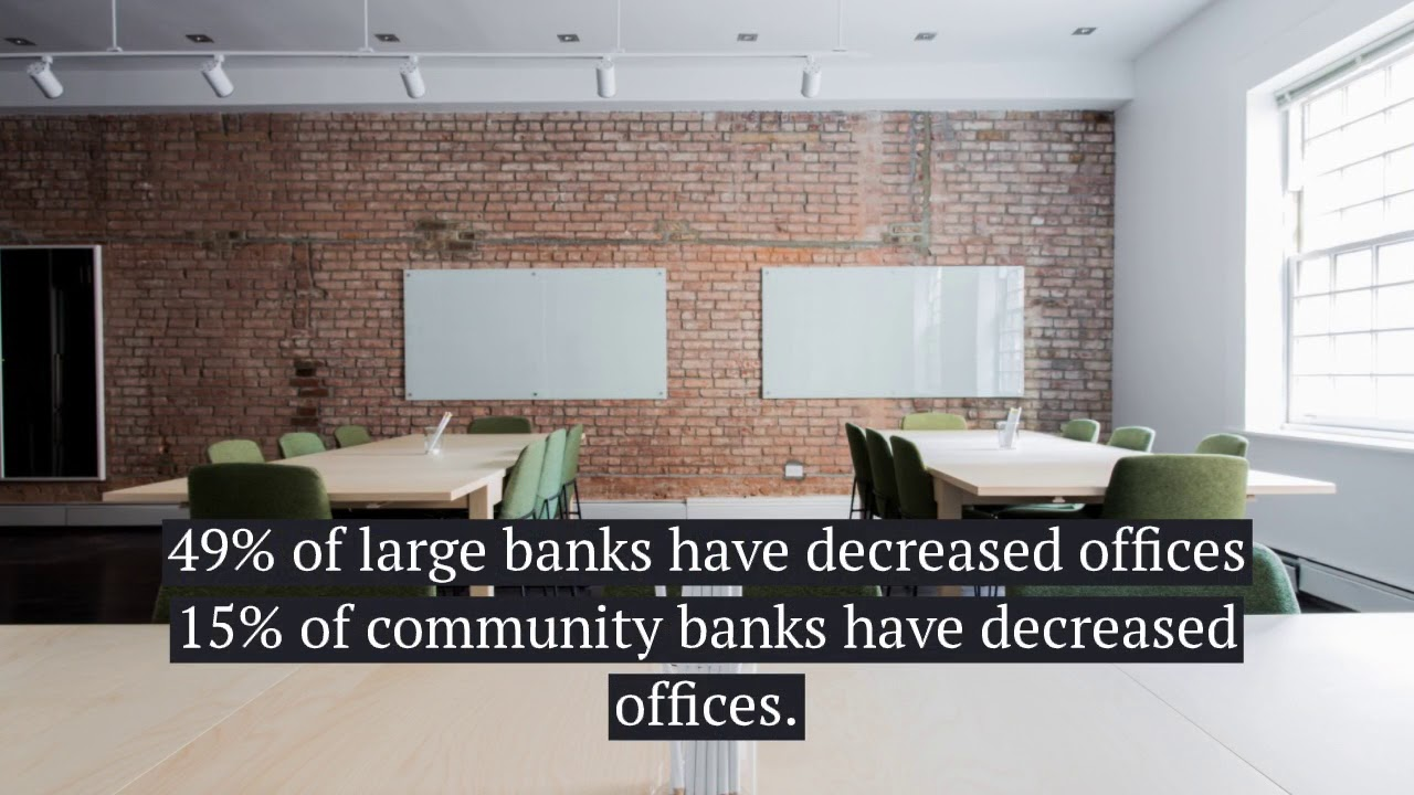 Who's Closing More Bank Branches - Large Banks or Community Banks?