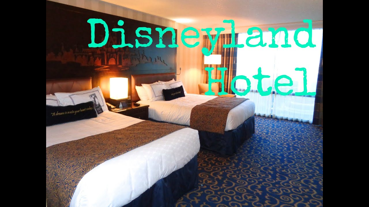 Disneyland Hotel Room Tour With Headboard Lights And Song