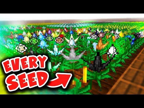 GETTING EVERY MYSTICAL AGRICULTURE SEED (Minecraft Boundless Modpack #28)