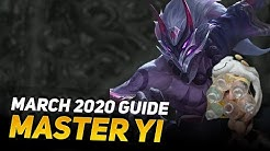 MASTER YI GUIDE FOR 2020 - COWSEP