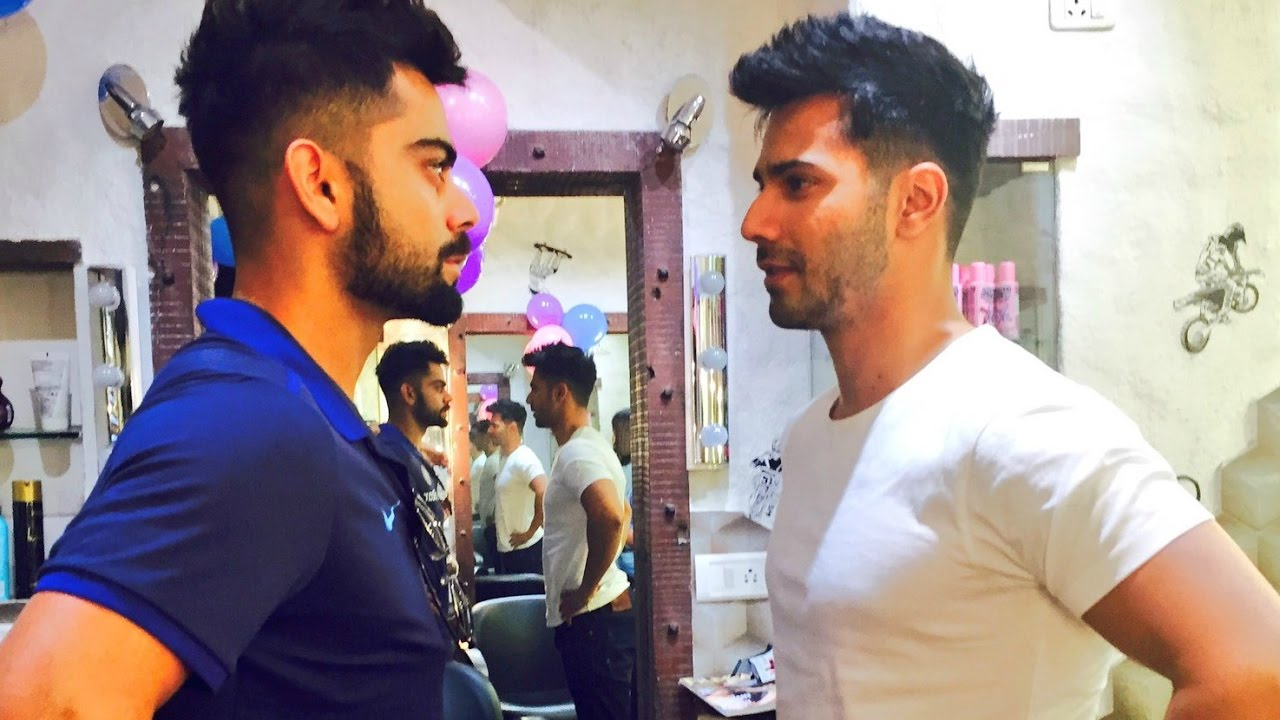 Varun Dhawan Gets Virat Kohli Hairstyle For Badrinath Ki