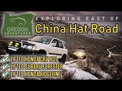 Softroading: Central Oregon: Exploring and Snow Camping East of China Hat Road