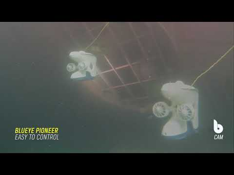 Underwater Ship Inspection with Blueye Pioneer