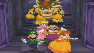 Mario Party 5 Lucky Minigames - Luigi Peach Wario Daisy All Funny Mini Games (Master CPU) thumbnail
