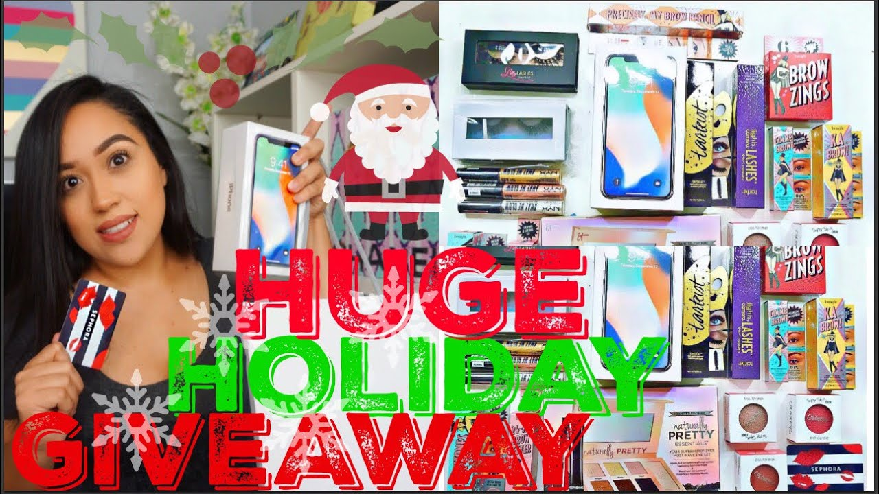 Huge Holiday Giveaway - New iPhone x  200 Sephora Makeup gift card ... e12cc34131
