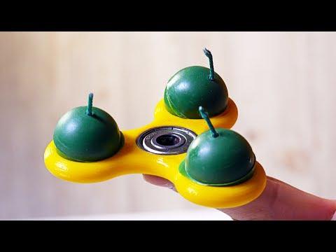 EXPERIMENT Fidget Spinner & Smoke Bomb