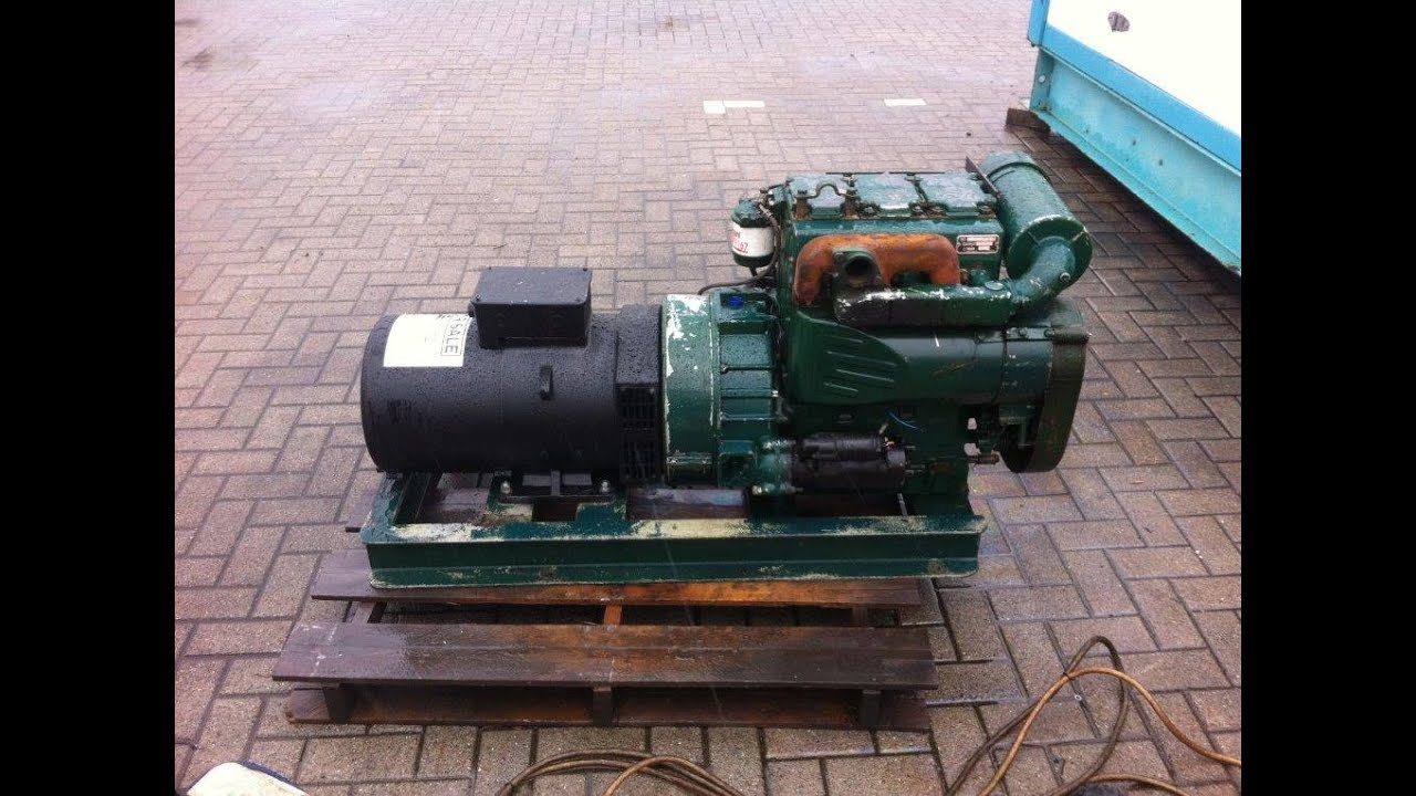 Dpx Power  Lister Petter 20 Kva Open Generator  3 Cyl