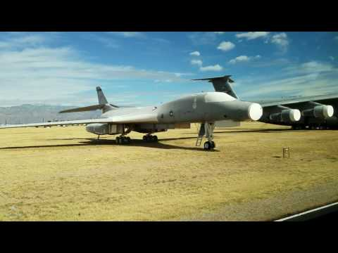 Airplane Boneyard and Graveyard Tour of Military and Civil Aviation