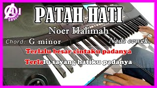 Download lagu PATAH HATI - Noer Halimah -  Karaoke Dangdut Korg Pa300