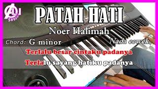 Download Mp3 Patah Hati - Noer Halimah -  Karaoke Dangdut Korg Pa300