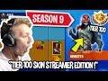 Streamers react to new season 9 battle pass 100 unlocked fortnite funny moments mp3