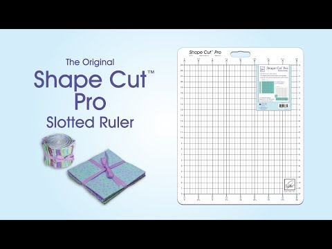 June Tailor Shape Cut Pro Ruler Demonstration Video Youtube
